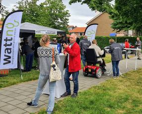 Buurt Energieklusdagen in Bussum