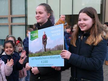Edwin Klomp natuurprijsvraag basisscholen het Gooi