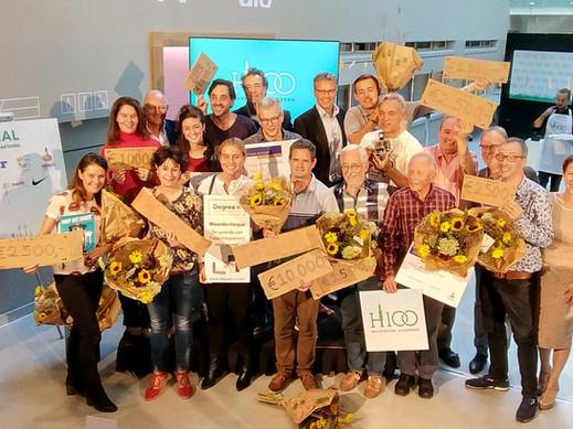 'Man op de maan' wint hoofd- én publieksprijs Hilversum100 Challenge!