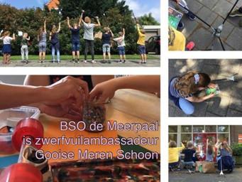 BSO de Meerpaal in Naarden is onze nieuwste zwerfvuilambassadeur!