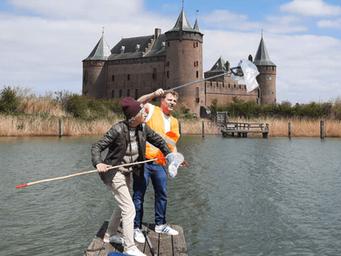 Voorjaarsschoonmaak Gooimeer en kuststrook Muiden en Muiderberg, zaterdag 8 mei