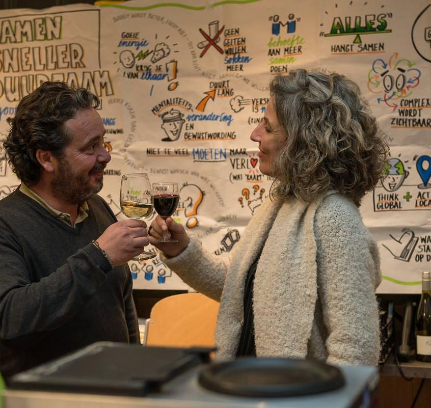 Biologische wijn van de Bussumse Kleine WIjnkoperij