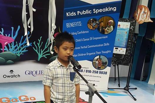 ikano ipc mall kids public speaking joha