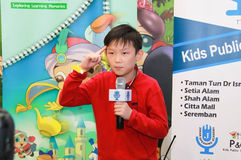 little kingdom kids public speaking joha
