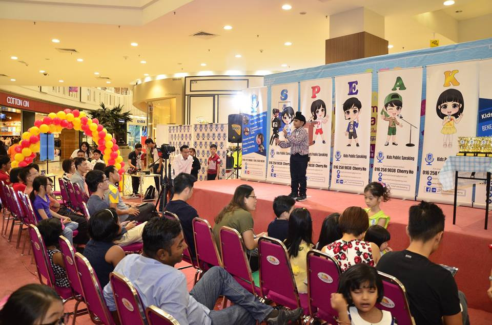 aeon station 18 kids public speaking joh