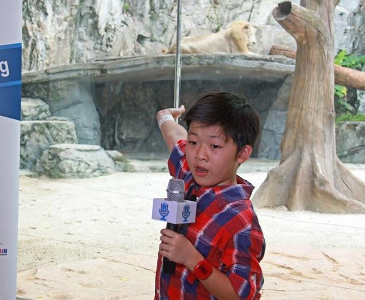 sunway lagoon kids public speaking johan