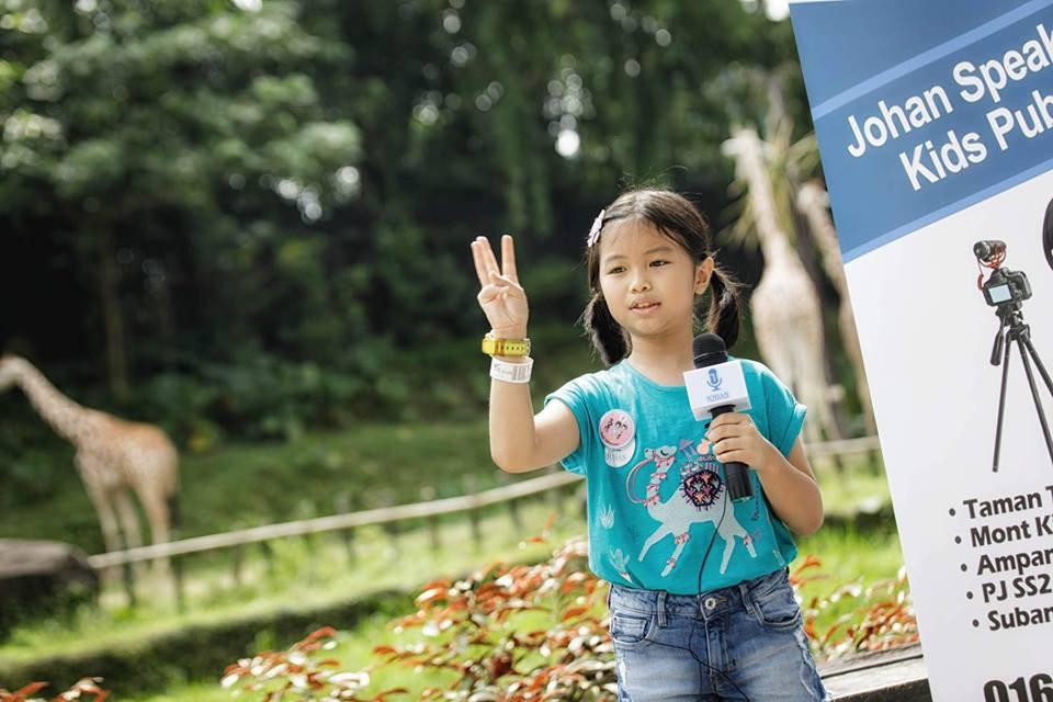 brand ambassador johan speaking academy