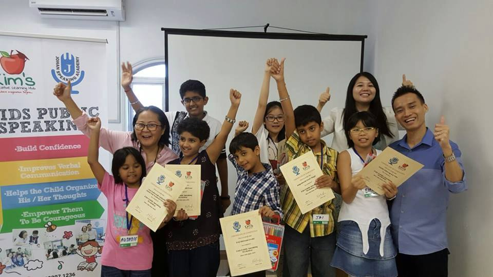 Kids Public Speaking Bangsar