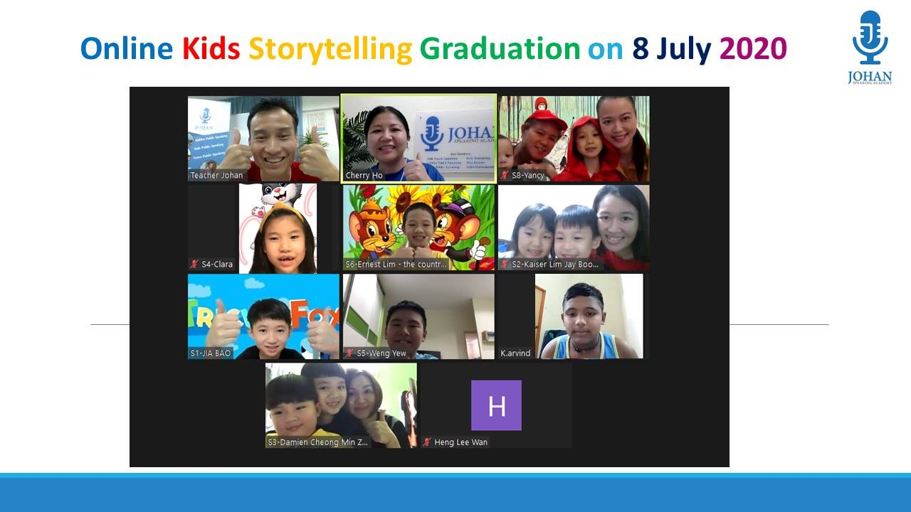 Online Kids Public Speaking Johan Speaki