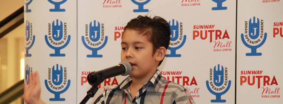 sunway putra mall kids public speaking j