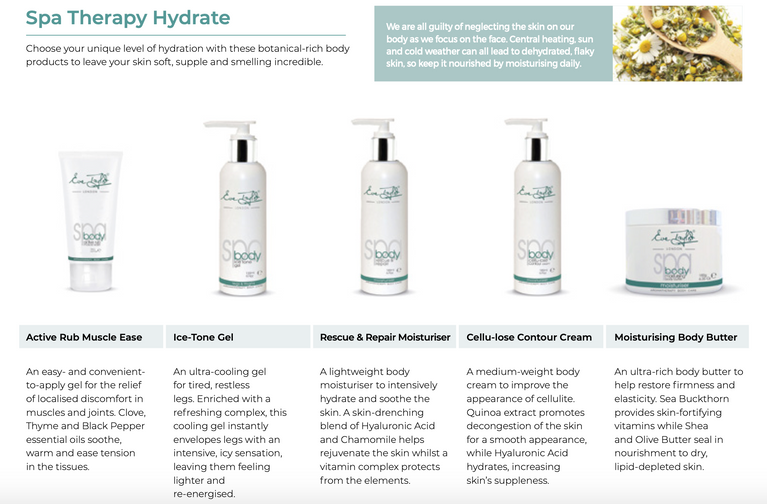 Eve Taylor Spa Therapy Hydrate