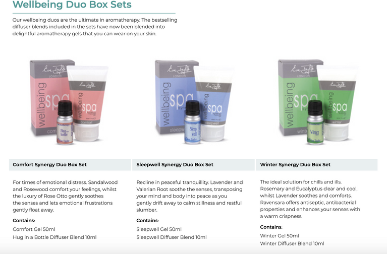 Eve Taylor Wellbeing Duo Box Sets