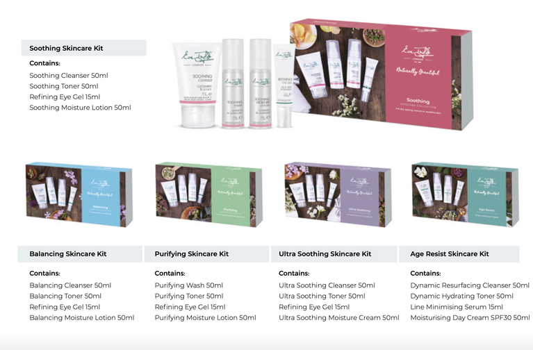 Eve Taylor Skincare Kits