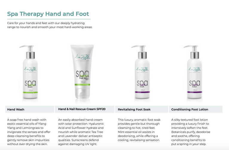 Eve Taylor Spa Therapy Hand and Foot