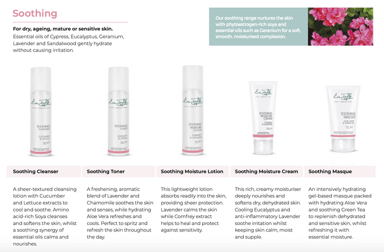 Eve Taylor Soothing Skincare