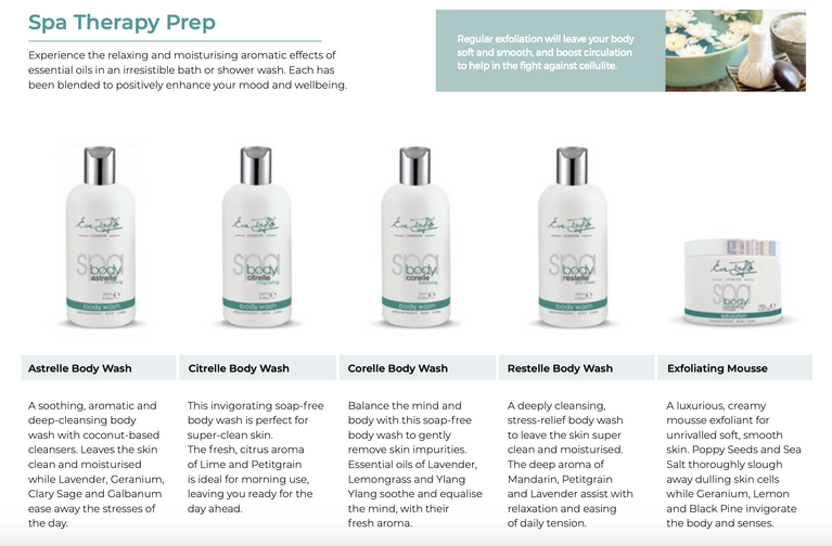 Eve Taylor Spa Therapy Prep - Body Wash - Exfoliating Mousse
