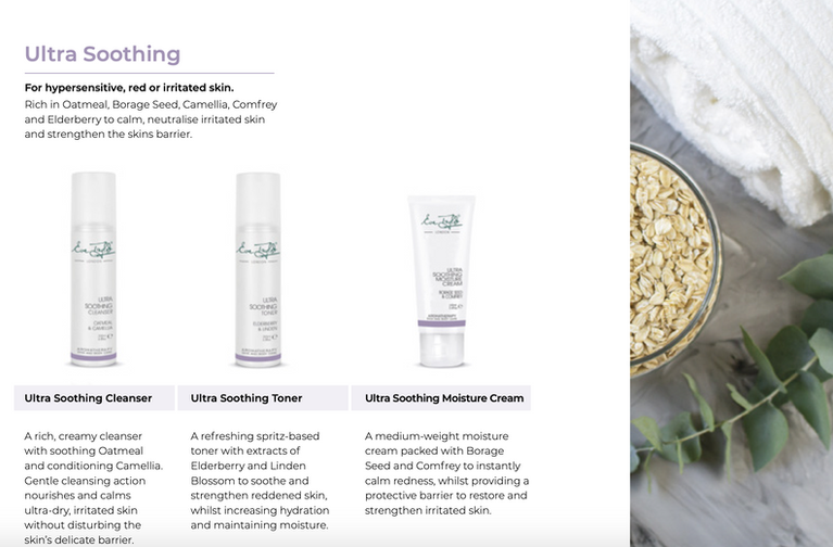 Eve Taylor Ultra Soothing Skincare