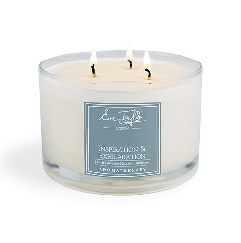 Inspiration&Exhilaration 3 Wick Massage Candle