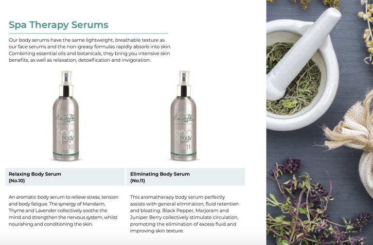 Eve Taylor Spa Therapy Serums