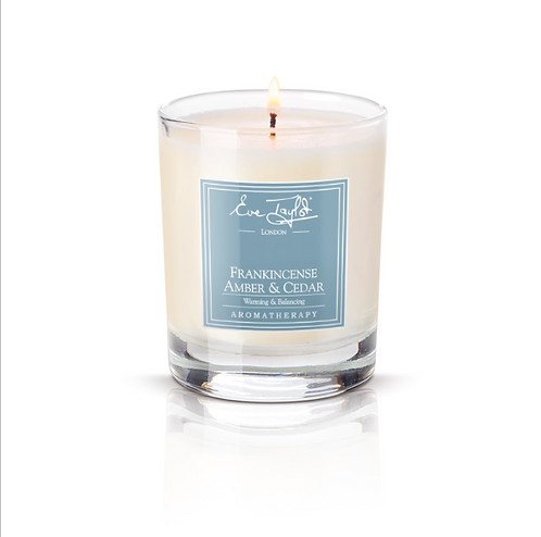 Frankincense, Amber & Cedar Tumbler Massage Candle