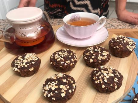 Chocolate Oat Muffins