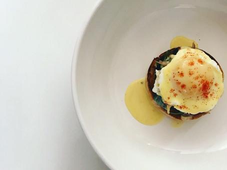 Guilt-free Eggs Benedict