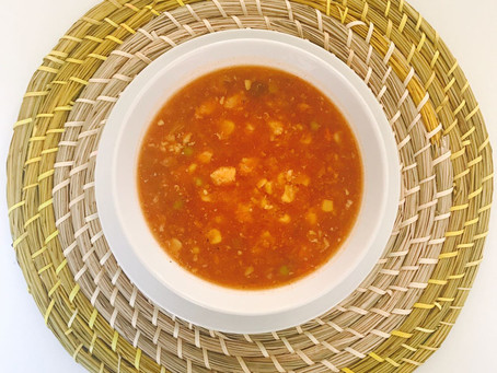 Hot and Sour Chicken and Sweetcorn Soup