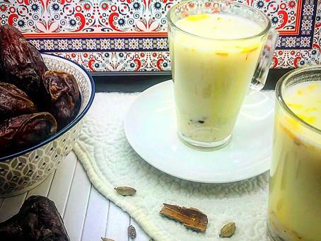 Badam Milk/ Kheer/ Almond Spiced warm Milk with Protein