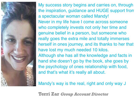 Terry Zar, FCB Joburg, Group Account Director her story.