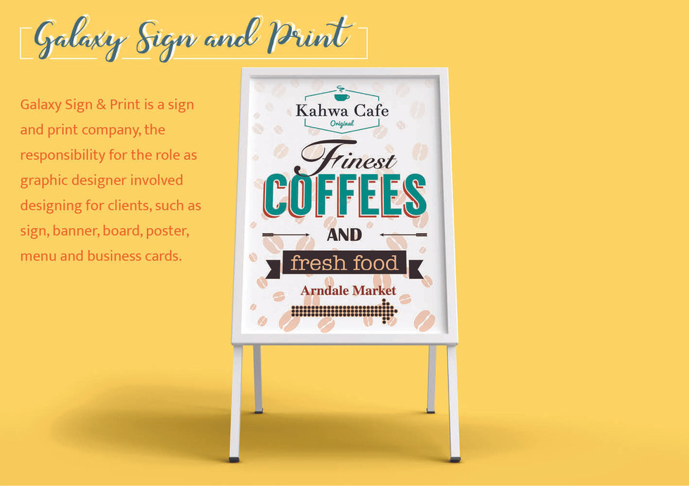 Galaxy Sign and Print
