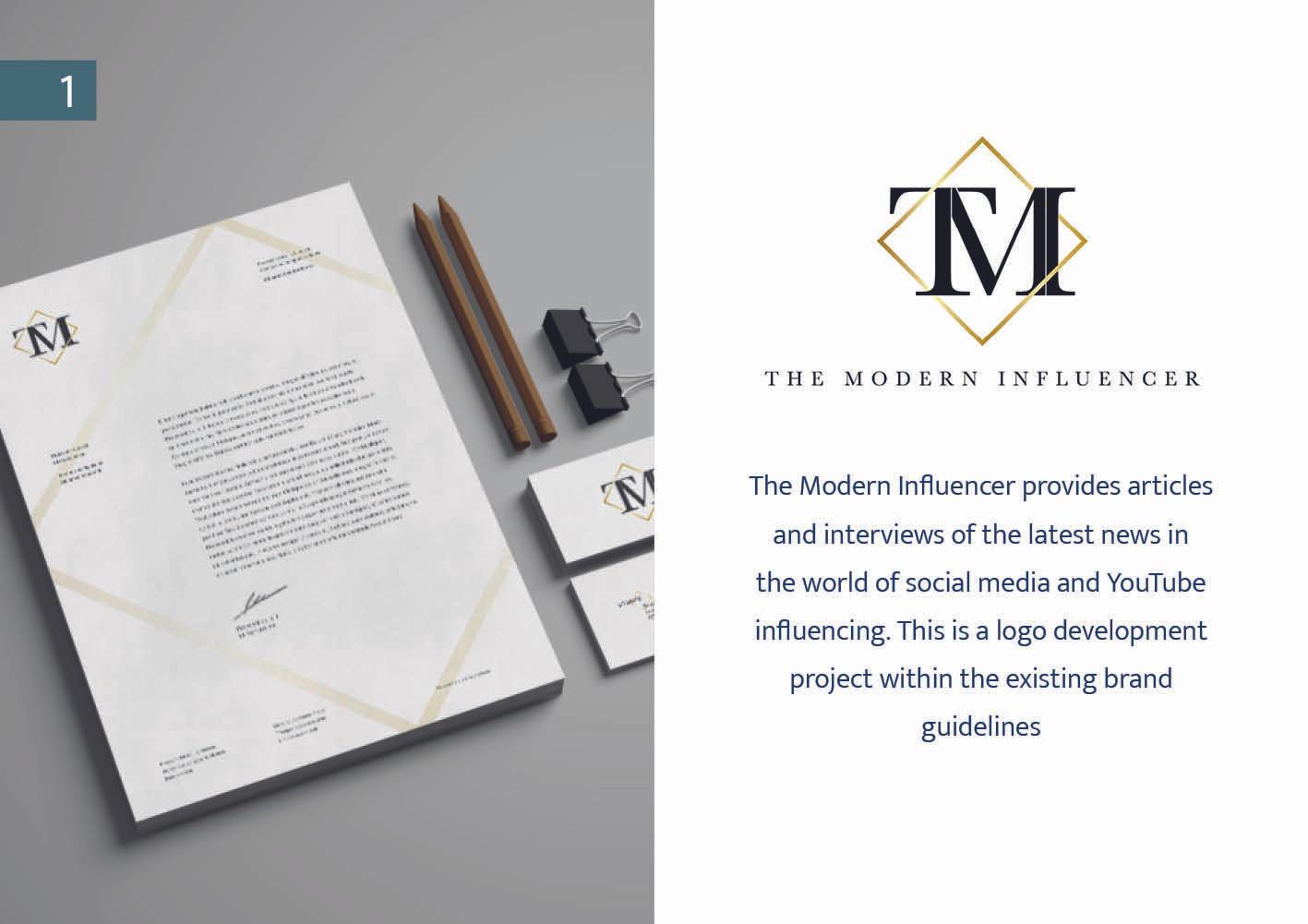Logo Design - The Modern Influencer