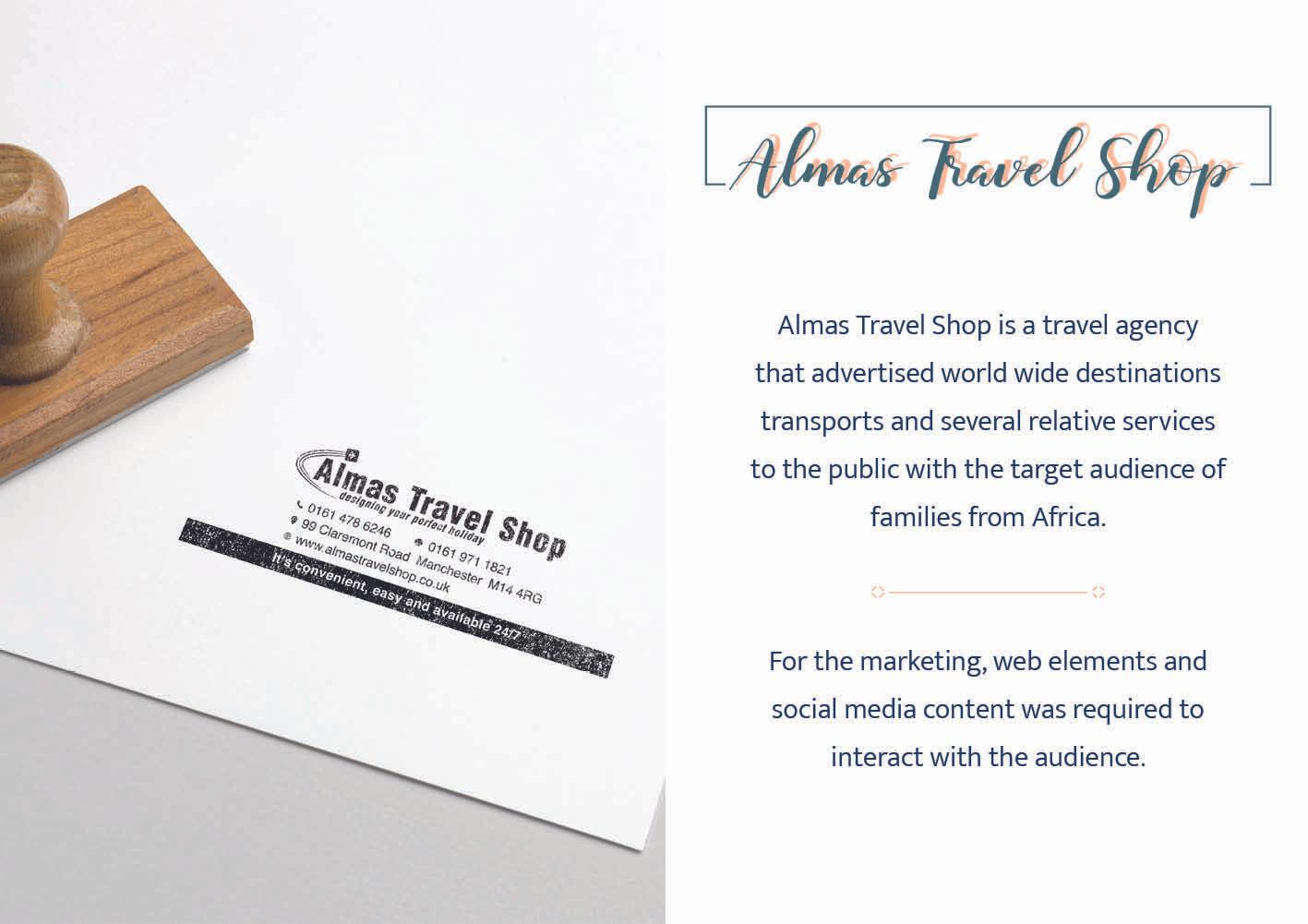 Almas Travel Shop