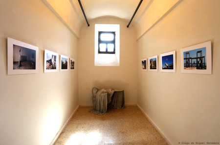 Exhibition in rehabilitated prision cell at  La Carcel de Segovia.   14 September-18 November 2018.
