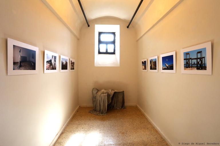 Exhibition in rehabilitated prision cell at  La Carcel de Segovia.   14 September-18 November 2018.