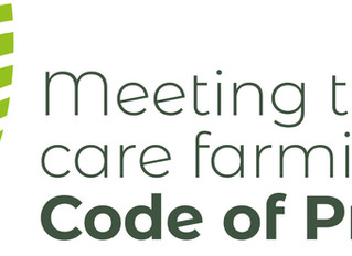 We meet the Care Farming Code of Practice!