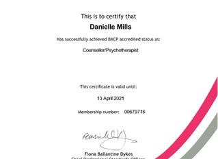 Accreditation achieved!!!