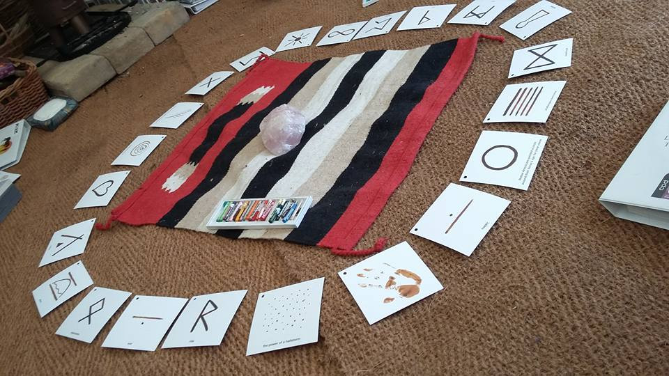 Symbolic language cards