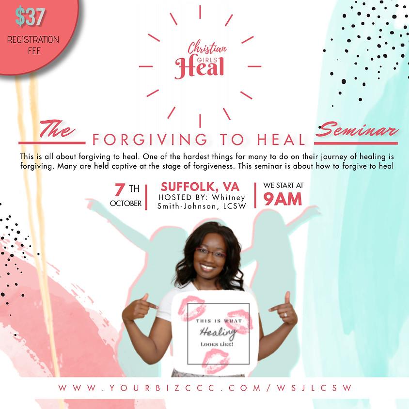 Forgiving to heal