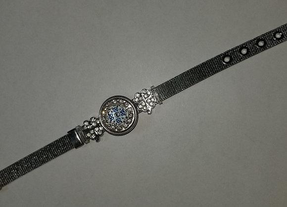 Silver Belt Bracelet