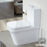 Duravit P3 Comforts Closed Coupled WC Bowl