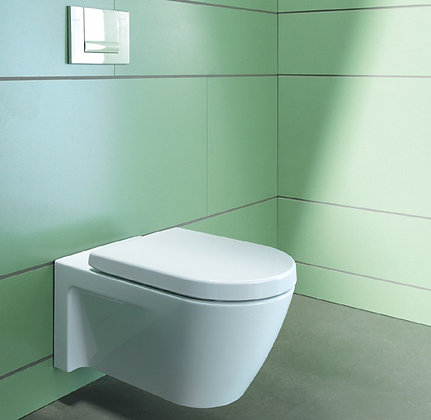 Duravit Starck 2 Wall Mounted Toilet 253409