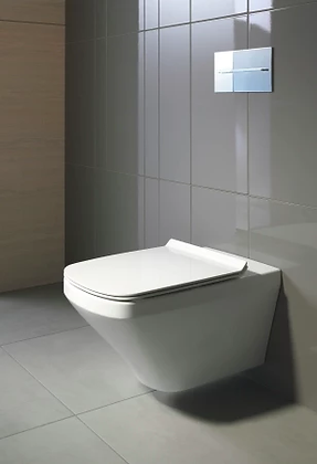Duravit DuraStyle Rimless Wall Mounted Toilet 254209