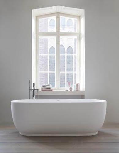 Duravit Luv Freestanding Bathtub