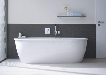 Duravit Darling New Free Standing Bathtub (day mode)