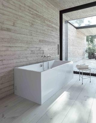 Duravit Vero Air Freestanding Back to Wall Bathtub 700417