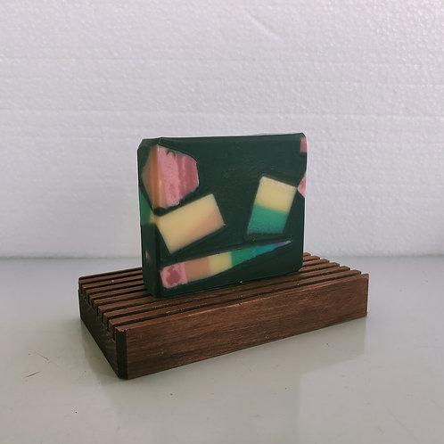 Rainbow Fracture Soap