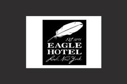 Eagle Hotel logo design