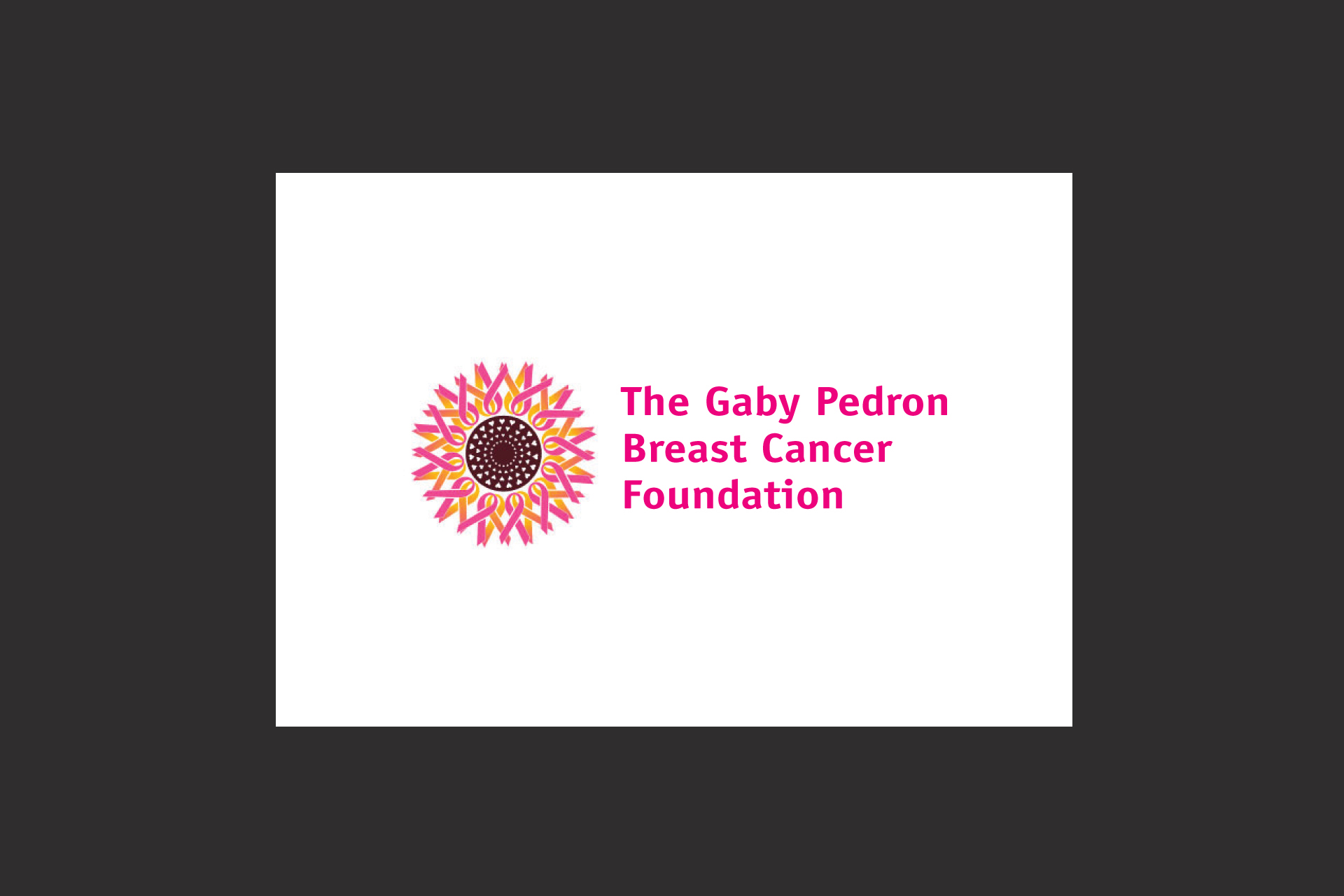 Gaby Pedron Breast Cancer Foundation log