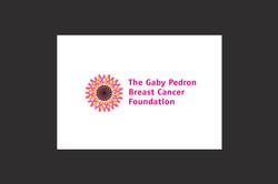 Gaby Pedron Breast Cancer Foundation log