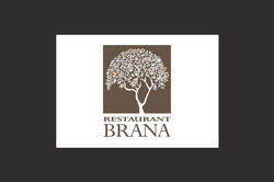 Restaurant Brana logo illustration